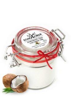 kokosový olej sklenička