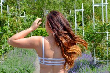 Moje péče o vlasy: fotka dlouhých vlasů