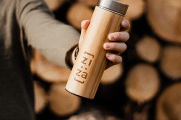 bambusová lahev